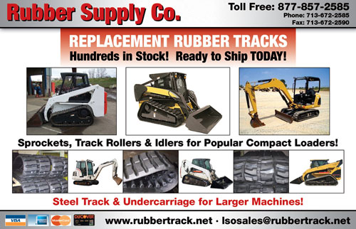 Rubber Supply Company - Rubber Track, Undercarriage, Sprockets